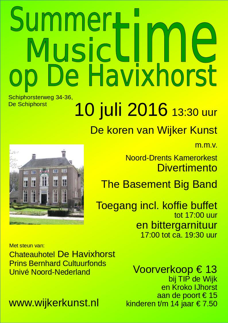 Summer music time De Havixhorst
